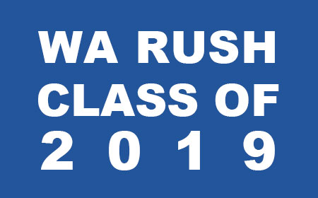 Washington Rush Class of 2019 College Signees