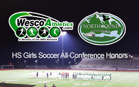 WA Rush Players Named to HS Girls All-Conference Teams